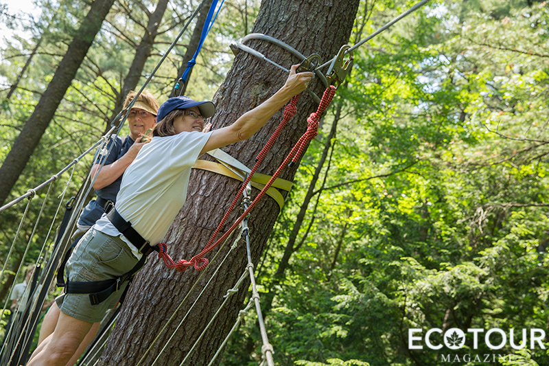 Haliburton Forest Treetop Canopy Tour