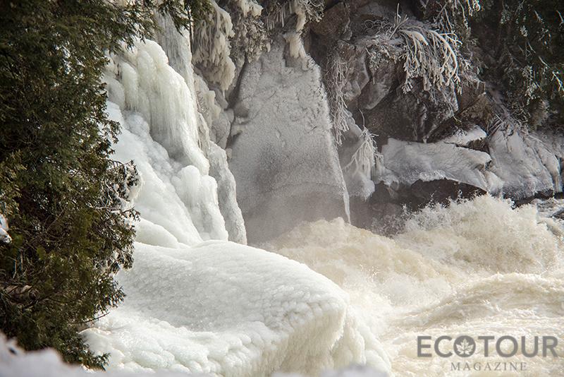 Ragged Falls Algonquin Park