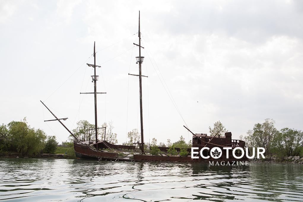 You Can Paddle to Niagara's Abandoned Ship | Niagara Region